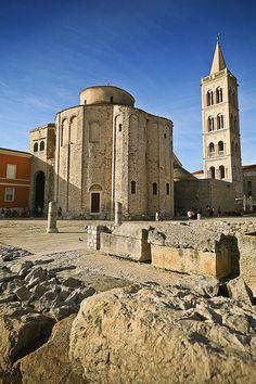 St. Donatus Church, Zadar, Croatia (9th century, croatian pre- romanesque)
