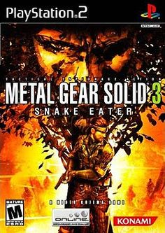 Metal Gear Solid 3 Snake Eater Sony Playstation 2 used video game available for sale. Metal Gear Solid, Playstation 2, Nintendo 3ds, Kojima Productions, Weapon Of Mass Destruction, Kings Game, Least Favorite, Favorite Things, Gears