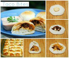{Easy} Taco Bites