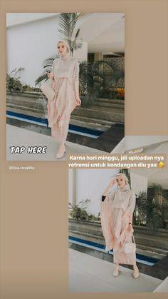 Dress Muslim Modern, Dress Brokat Modern, Casual Hijab Outfit, Ootd Hijab, Kebaya Dress, Kebaya Muslim, Batik Dress, Abaya Fashion, Shops