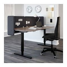 "IKEA - BEKANT, Screen for desk, 21 5/8 "", , The screen creates a quiet and pleasant working environment by providing privacy and absorbing sound.Easy to mount on BEKANT table top to creates a private work space.Holds pins and serves as a noticeboard."