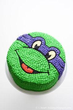i heart baking!: teenage mutant ninja turtle cake