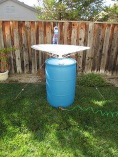 RainSaucers - New Standalone DIY Rain Barrel Kit