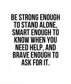 Be strong, smart & brave!