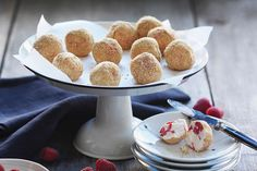Love cheesecake?  Our No-Bake Raspberry Cheesecake Bites recipe is a must try.  They're so cute and tasty!