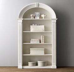Neoclassic Bookcase great for a girls bedroom