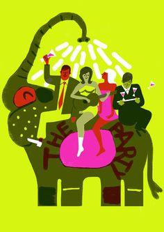 The Party (1968), de Blake Edwards, avec Peter Sellers !