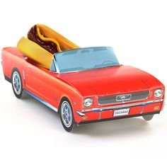 Made of thick paperboard, this Classic Cruisers car carton is the perfect…