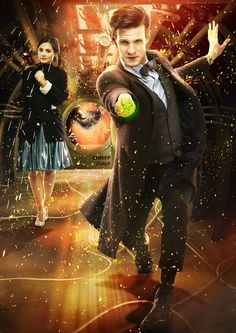 Doctor Who. Matt Smith as the 11th Doctor.