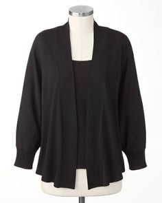 Dolman drape cardigan Coldwater Creek (Was $49.99, I paid $19.99)