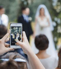Emmaline Bride - Handmade Wedding Blog If you're wondering how to share photos from an event the easy way, you've come to the right place. Have you ever taken pictures at a wedding and wanted to… Handmade Wedding Blog