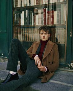 Billy Vandendooren photographed by Fanny Latour-Lambert and styled by styled by Luca Roscini for Style Magazine October 2015