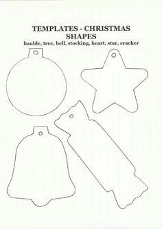 Christmas Templates http://www.kidspot.com.au/files/Christmas_Content/Christmas_shapes1.jpg
