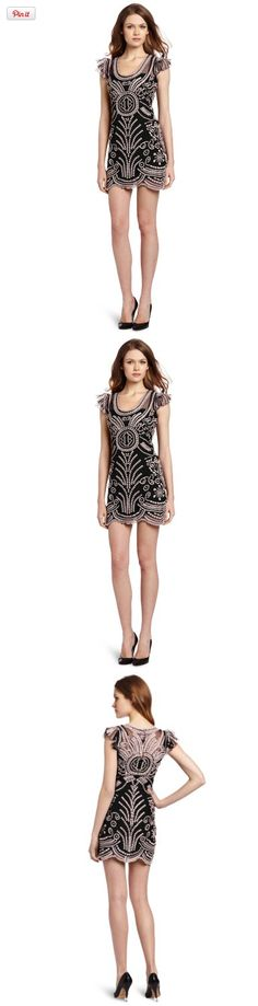 Anyone who knows me knows I am a complete sucker for most Yoana Baraschi pieces, this dress is no  exception.   Women's Voodoo Power Party Dress, Stone/Black, 8, Voodoo power party dress, #Apparel, #Night Out & Cocktail