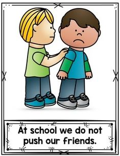 Making Good and Bad Choices At School by Bilingual Printable Resources Kindergarten Classroom Rules, Preschool Rules, Preschool Behavior, Classroom Rules Poster, Classroom Jobs, Classroom Behavior, Classroom Language, Classroom Management, Preschool Activities