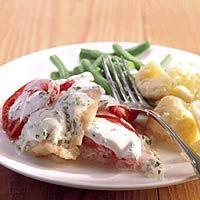 Recept - Roodbaars met Griekse yoghurt - Allerhande
