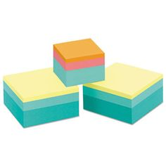 Original Cubes, One 2 X 2: 360/pad, Two 3 X 3: 400/pad, Emerald Wave