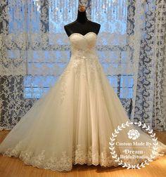 another beautiful classic wedding dress.