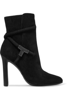 TOM FORD | Suede ankle boots | NET-A-PORTER.COM