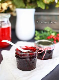 Cranberry Butter {Merry Berry Holiday Hop} on kleinworthco.com