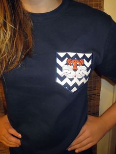 TIGER Pocket Tee - website with tons of cute products