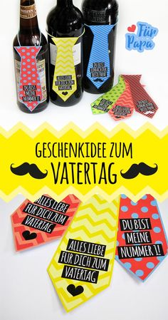 Make a quick Father& Day gift - Gifts of love- Schnelles Vatertagsgeschenk basteln – Gifts of love Quick gift idea for Father& Day: Simply print out the freebie and start tinkering! Diy Gifts For Men, Diy Father's Day Gifts, Father's Day Diy, Gifts For Kids, Fathers Day Cards, Gifts For Father, Papa Tag, Mom Day, Kids Cards