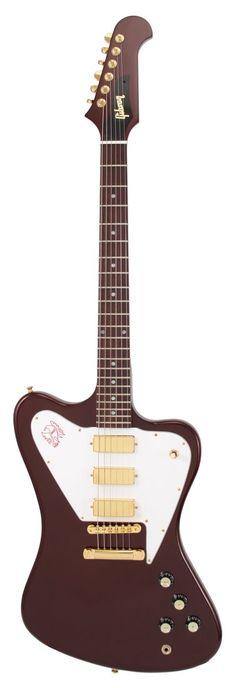 Gibson Custom Shop Firebird Non Reverse 3 Mini Humbuckers Burgundy Metallic