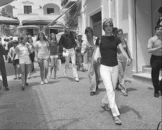 Jackie in Capri