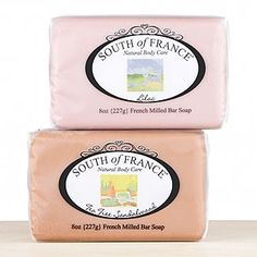Triple-milled French Soap - Turn your next shower into a mini French vacation