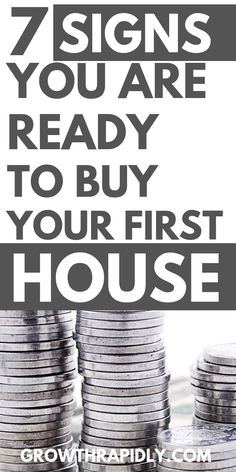 7 Signs You Are Ready To Buy A House - Home Buying - Home Buys ideas - - Thinking of buying a house soon? Read on to find whether you are ready to buy a house. how to buy a house buying a home first time home buyer home buying process. Home Buying Tips, Home Selling Tips, Buying Your First Home, Home Buying Process, Home Buying Checklist, Money Tips, Money Saving Tips, Mortgage Tips, Mortgage Rates