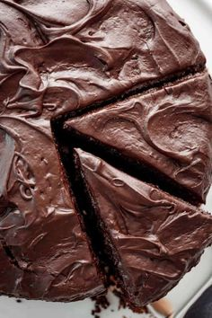 An easy to make, rich Chocolate Cake is the most craved cake recipe. One bowl, minimal ingredients = a fluffy, tender-moist chocolate cake! Dense Chocolate Cake Recipe, Chocolate Turtle Cakes, Decadent Chocolate Cake, Chocolate Buttercream Frosting, Best Chocolate Cake, Chocolate Flavors, Chocolate Ganache, Chocolate Desserts, Sweet Recipes