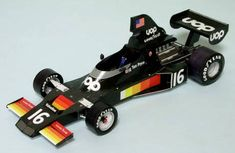 F1 Paper Model - 1975 Shadow DN5 Paper Car Free Template Download