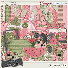 GingerScraps :: Kits :: Summer Slice