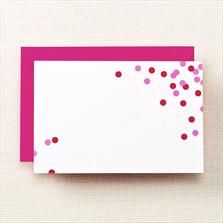 Kate Spade New York  confetti cards, DIY?