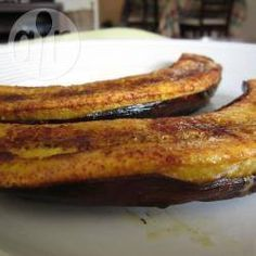 Banana-da-terra assada @ allrecipes.com.br