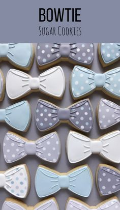 Bow Tie Sugar Cookies #affiliate
