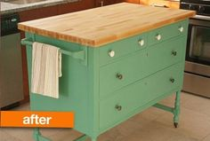 Before & After: An Old Dresser Gets a Refresh (In a New Room)