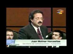 Debate Gerardo Fernández Noroña y Juan Molinar Horcasitas
