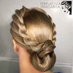 Hairstyle by me ✨ #terpugovamargarita #hairstyle #dance #ballroomdance #прическа #бальныетанцы #тан - margarita_profmuah