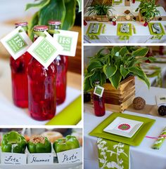 #Green #garden #party ideas.