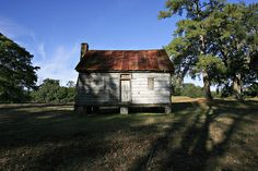 Slave Housing, Friendfield Plantation, Georgetown SC - the roots of Michelle Obama's family, the Robinsons.