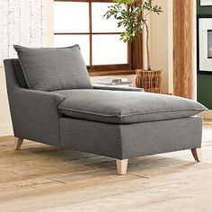 Shop chaise from west elm. Find a wide selection of furniture and decor options that will suit your tastes, including a variety of chaise. Living Room Chairs, Living Room Furniture, Grey Furniture, Lounge Chairs, Dining Chairs, Sofa Bed Home, Reading Nook, Reading Time, Decorating Your Home