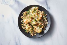 Cauliflower-Couscous Toss | Use this recipe as a template for any hearty vegetables and grains you have on hand, like broccoli and green beans or quinoa and farro.