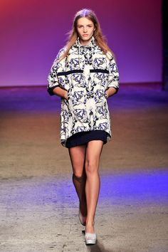 Icb at New York Fashion Week Spring 2014 - StyleBistro