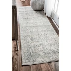 Gilfillan Ivory/Gray Area Rug