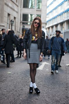 street style by the locals.