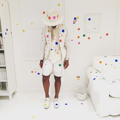 New Yorkers Go Sticker Crazy at Yayoi Kusama's Latest Obliteration Room - My Modern Met