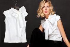 Photos in s de la fressange au d fil printemps t 2012 for Carolina herrera white shirt collection