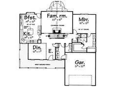 Louisa Farmhouse Plan 026D-1072 | House Plans and More