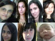 Three generations: Mom, four daughters, 2 granddaughters. An abundance of Oestrogen in our family :D From Zubeida K :)